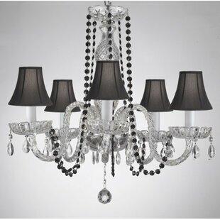 House of Hampton Kasper 5-Light Shaded Chandelier
