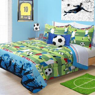 Hollifield Soccer Comforter Set