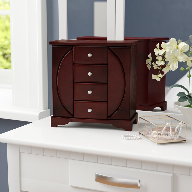 Andover Mills Upright Jewelry Box Reviews Wayfair