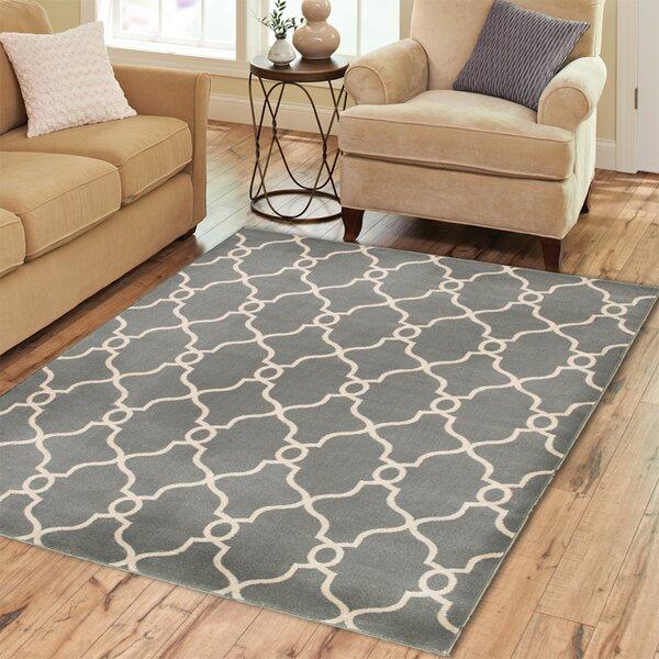 Charlton Home Rowena Geometric Tufted Jute Sisal Gray Beige Area Rug Reviews Wayfair