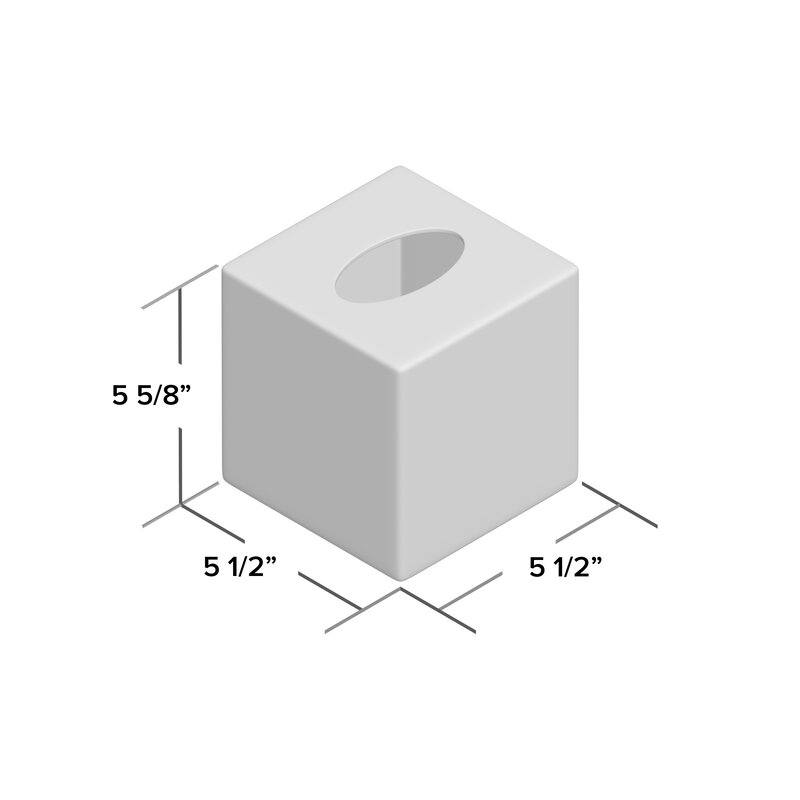 Kit Porcelain Tissue Box Cover Reviews Birch Lane