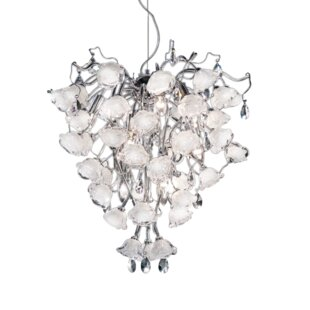 Everly Quinn Khara Bouquet 12-Light Novelty Chandelier