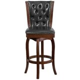 Achilles Swivel Bar & Counter Stool by Darby Home Co