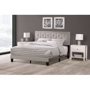 Keesler Upholstered Panel Bed by Alcott Hill