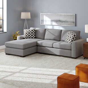 Flowery Branch Reversible Sleeper Sectional by Ivy Bronx Great price