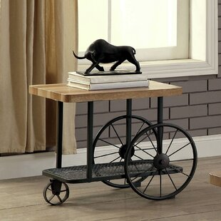 Springport Industrial End Table by Gracie Oaks