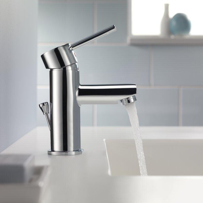 delta trinsic® bathroom single handle single hole bathroom faucet