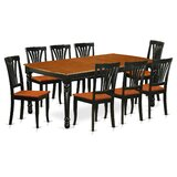 Pimentel Solid Wood Dining Set by August Grove®