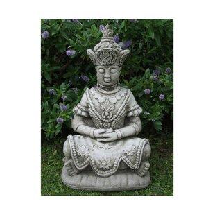 Thai Buddha Stone Garden Statue