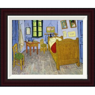 Wildon Home ® Bedroom at Arles by Vincent Van Gogh Framed Painting ...