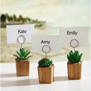 Wedding Place Card Holders You\'ll Love   Wayfair