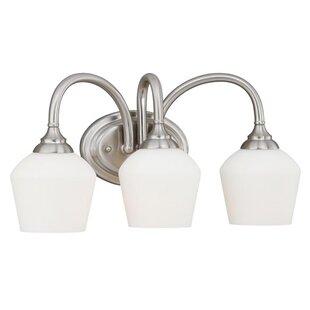 Vaxcel Grafton 3-Light Vanity Light