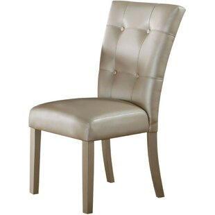 Cillian Button Tufted Upholstered Dining Chair (Set of 2) Alcott Hill