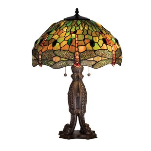 Tiffany Hanginghead Dragonfly 24.5 Table Lamp