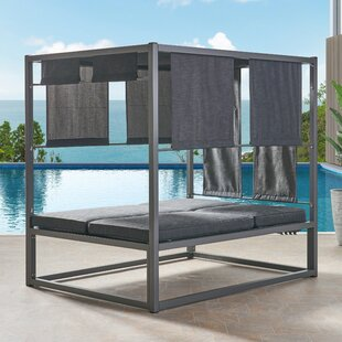 Orren Ellis Diller Patio Daybed with Cushions