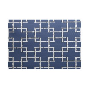 Connelly Blue Indoor/Outdoor Area Rug