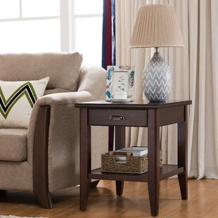 Stonington End Table With Storage