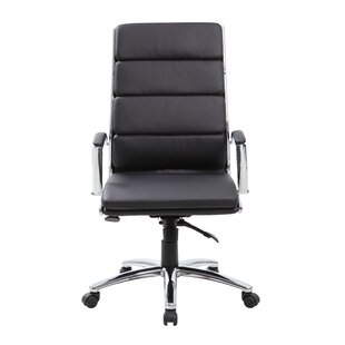 modern executive high back desk chairs allmodern