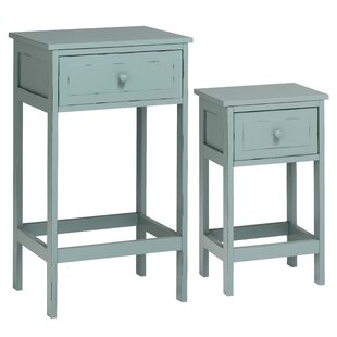 Newbrook 2 Side Table Set By Beachcrest Home