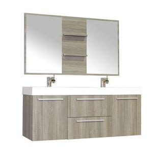 54 vanity double sink. Save To Idea Board 51  55 Double Vanities You Ll Love Wayfair