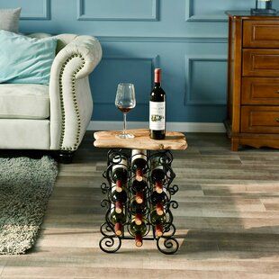 Kellyville 10 Bottle Floor Wine Rack