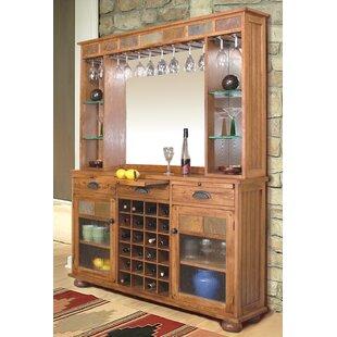 Fresno Home Bar with Wine Storage
