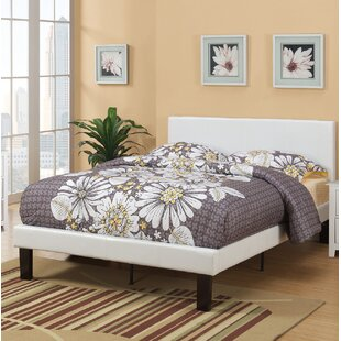 Lundstrom Upholstered Platform Bed by Wrought Studio