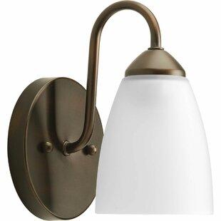 Abbeville 1-Light Bath Sconce by Ebern Designs