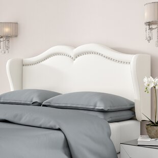 Mott Upholstered Wingback Headboard