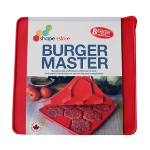 32 Oz. Burger Master 8-in-1 Press and Freezer Container