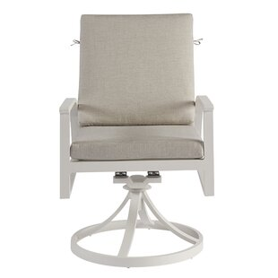 Dani Swivel Upholstered Dining Chair (Set of 2) Highland Dunes