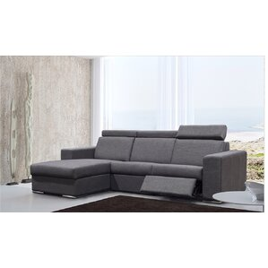 elegance reclining sectional