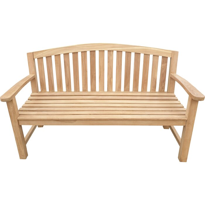 Wondrous Cato Teak Garden Bench Ocoug Best Dining Table And Chair Ideas Images Ocougorg
