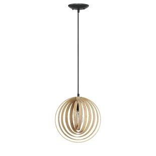 Ussery 1-Light Globe Pendant by George Oliver