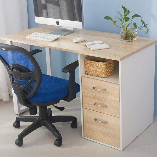 Ebern Designs Herminia Desk & Reviews by Ebern Designs