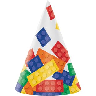 Block Hat Paper Disposable Party Favor (Set of 24)
