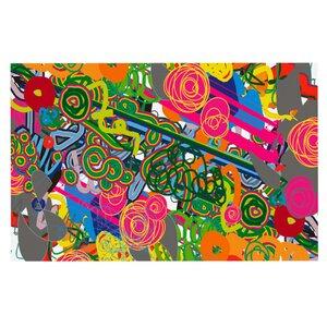 Frederic Levy-Hadida 'Psychedelic Garden' Doormat