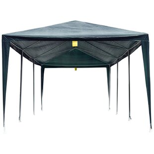 10 Ft. W x 30 Ft. D Metal Party Tent by Outsunny