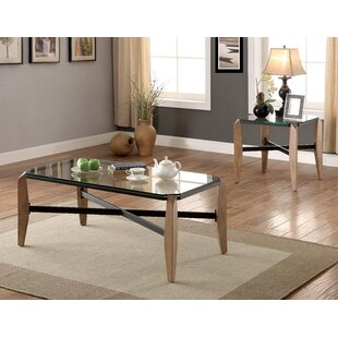Millwood Pines Kristofer 2 Piece Coffee Table Set