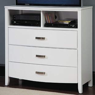 Find the perfect Rushmere 3 Drawer Media Chest by Latitude Run