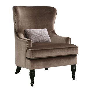 Treshon Wingback Chair by Everly Quinn
