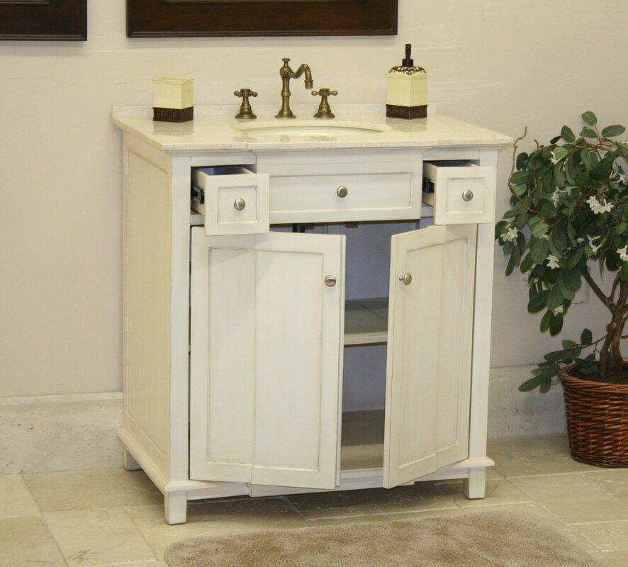 Default NameB I Direct Imports Brighton 34 Single Bathroom Vanity Set