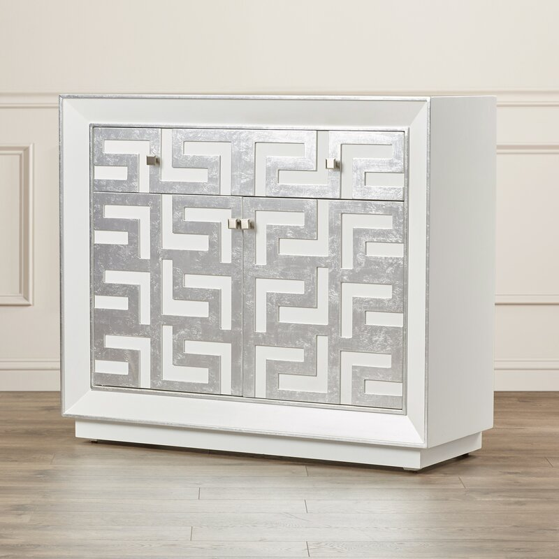 Runkle 2 Drawer 2 Door Hospitality Cabinet