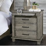 Beula 3 Drawer Nightstand by Gracie Oaks