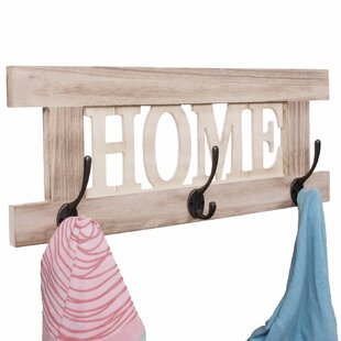 Joseph Wall Mounted Coat Rack By Brambly Cottage