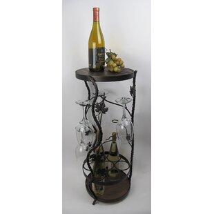 Metrotex Designs French Vineyard 7 Bottle Floor Wine Rack