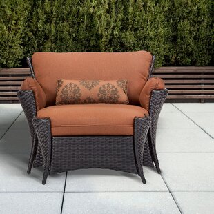 Brayden Studio Billington 2 Piece Deep Seating Chair with Cushion