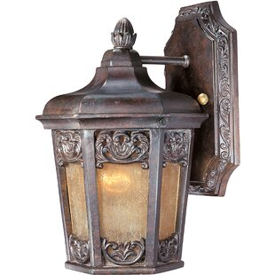 Compare Wimbish 1-Light Outdoor Wall Lantern By Fleur De Lis Living