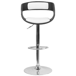 Culbert Adjustable Height Swivel Bar Stoo..