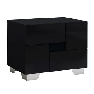 Jayda 2 Drawer Nightstand